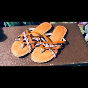Roxie Shea strappy slide sandals